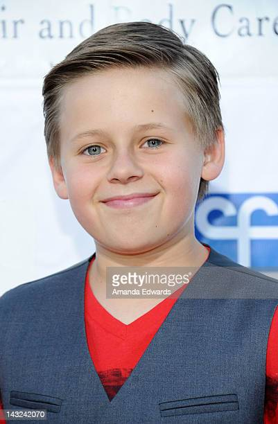 Actor Jackson Brundage arrives at the Band From TV's 2nd Annual Block Party On Wisteria Lane at Universal Studios Backlot on April 21 2012 in...