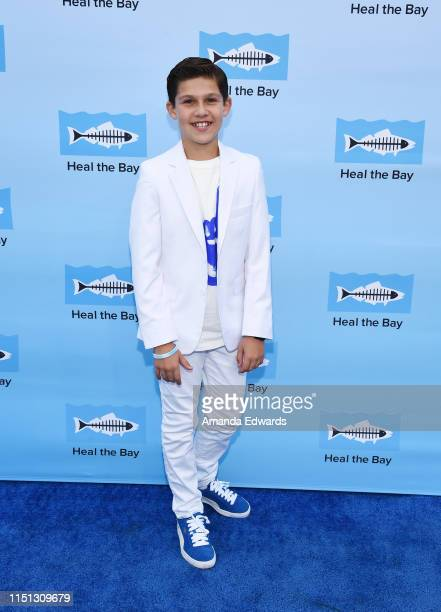 Actor Jackson Dollinger arrives at Heal The Bay's Bring Back The Beach Annual Awards Gala at Jonathan Beach Club on May 23 2019 in Santa Monica...