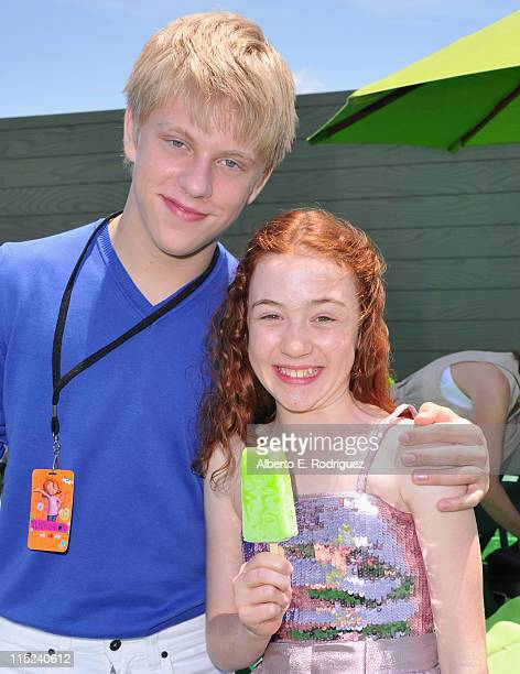 Actor Jackson Odell and actress Jordana Beatty attend the after party for the premiere of Relativity Media's Judy Moody And The NOT Bummer Summer on...