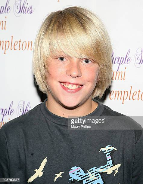 Actor Jackson Odell arrives at Jami Templeton's CD release celebration on August 20 2008 in Los Angeles California