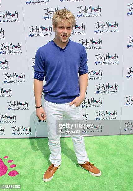 Actor Jackson Odell arrives at the Judy Moody And The NOT Bummer Summer Los Angeles premiere at ArcLight Hollywood on June 4 2011 in Hollywood...