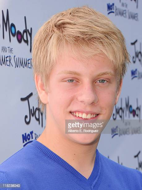 Actor Jackson Odell arrives at the premiere of Relativity Media's Judy Moody And The NOT Bummer Summer held at ArcLight Hollywood on June 4 2011 in...
