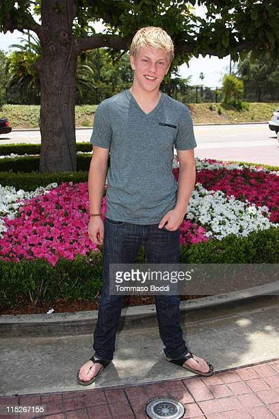 Actor Jackson Odell attends Camryns' performance At The Judy Moody And The Not Bummer Summer event at the Grove on June 5 2011 in Los Angeles...