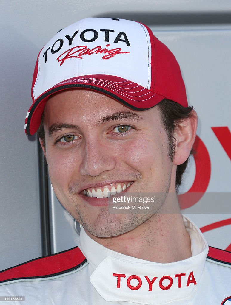 Actor Jackson Rathbone attends the 37th Annual Toyota Pro/Celebrity Race-Practice Day on April 9, 2013 in Long Beach, California.