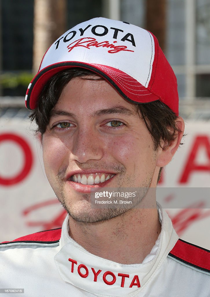 Actor Jackson Rathbone attends the 37th Annual Toyota Pro/Celebrity Race qualifying on April 19, 2013 in Long Beach, California.