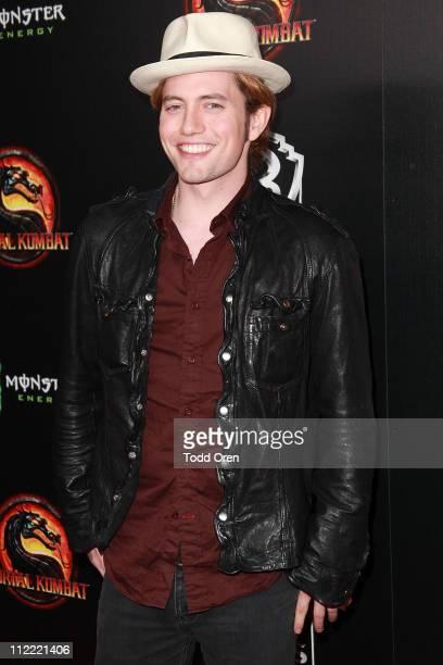 "Actor Jackson Rathbone attends the ""Mortal Kombat Legacy"" digital series premiere celebration at Saint Felix II on April 14, 2011 in Hollywood,..."