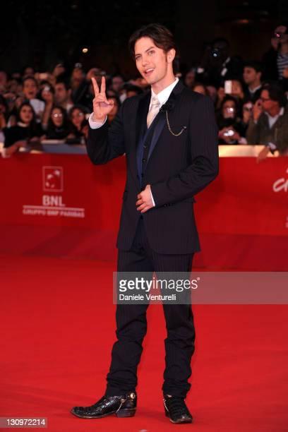 "Actor Jackson Rathbone attends the ""Twilight Saga: Breaking Dawn"" Premiere during the 6th International Rome Film Festival at Auditorium Parco Della..."