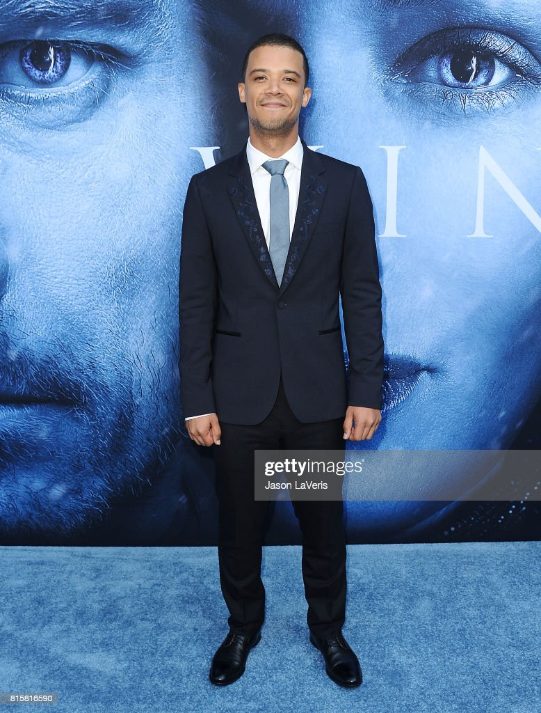 Actor Jacob Anderson attends the season 7 premiere of 'Game Of Thrones' at Walt Disney Concert Hall on July 12, 2017 in Los Angeles, California.
