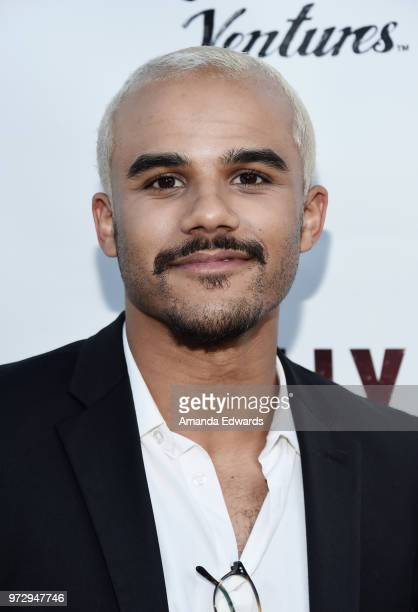 Actor Jacob Artist arrives at the Los Angeles premiere of 'Billy Boy' at the Laemmle Music Hall on June 12 2018 in Beverly Hills California