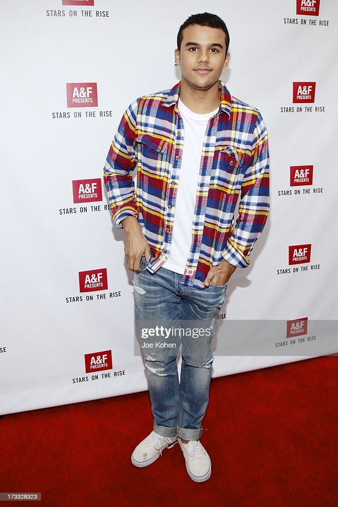 Actor Jacob Artist attends Abercrombie & Fitch Co. presents their 2013 'Stars On The Rise!' at The Grove on July 11, 2013 in Los Angeles, California.