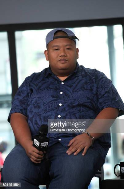 Actor Jacob Batalon attends Build Series to discuss his role in SpiderMan Homecoming at Build Studio on June 26 2017 in New York City