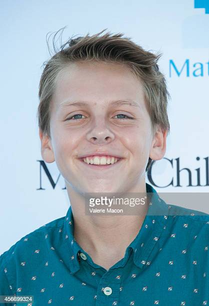 Actor Jacob Bertland arrives at the 15th Annual Party On The Pier Hosted By Sarah Michelle Gellar at Santa Monica Pier on October 5 2014 in Santa...