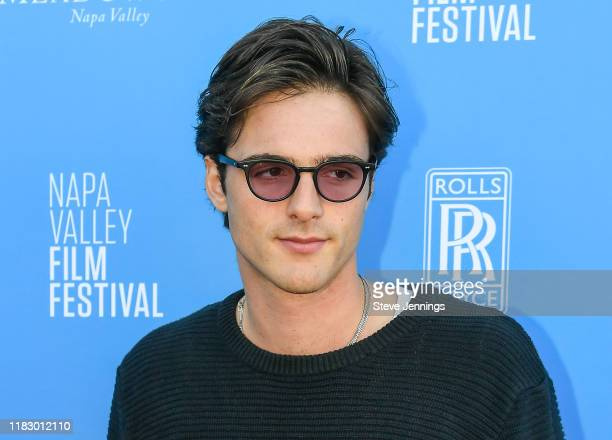 Actor Jacob Elordi attends the Rising Star Showcase at the Napa Valley Film Festival at Materra Cunat Family Vineyards on November 16 2019 in Napa...