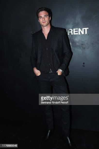 Actor Jacob Elordi attends the Saint Laurent Womenswear Spring/Summer 2020 show as part of Paris Fashion Week on September 24 2019 in Paris France