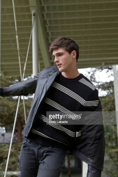 Actor Jacob Elordi is photographed for Just Jared Jr on May 12 2018 in Los Angeles California