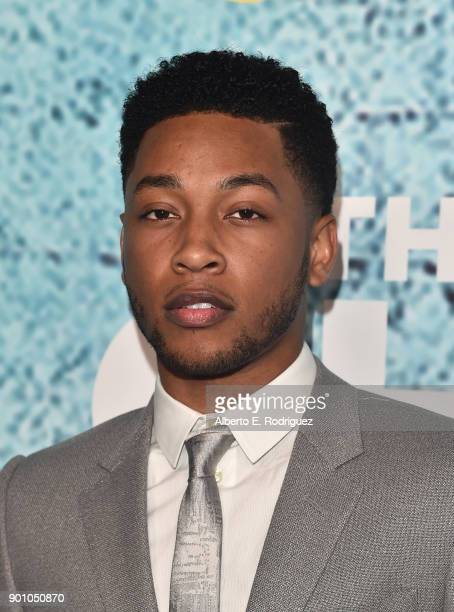 Actor Jacob Latimore attends the premiere of Showtime's 'The Chi' at The Downtown Independent on January 3 2018 in Los Angeles California