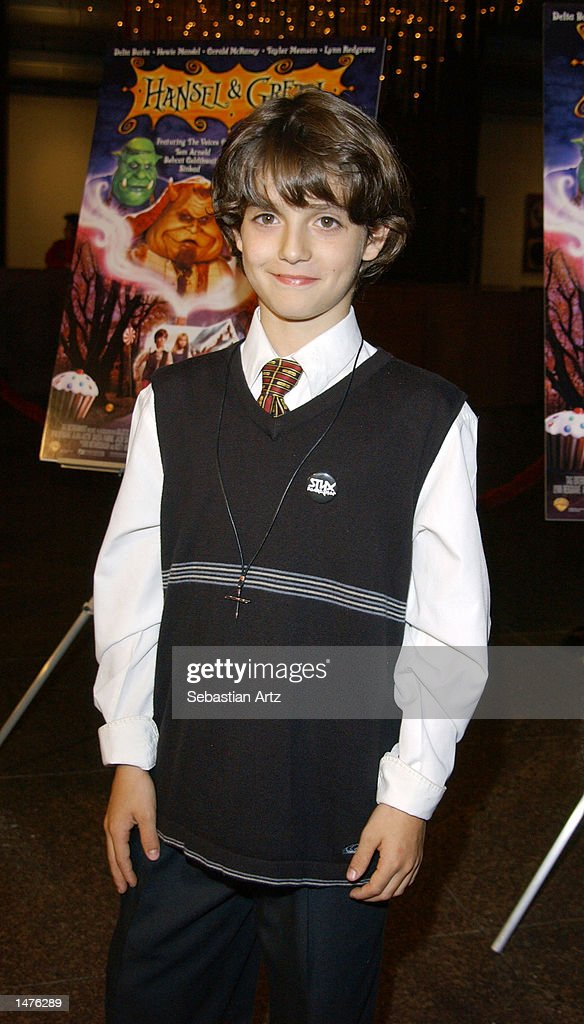 Actor Jacob Smith arrives at the premiere of the movie 'Hansel & Gretel' on October 14, 2002 in Los Angeles, California.