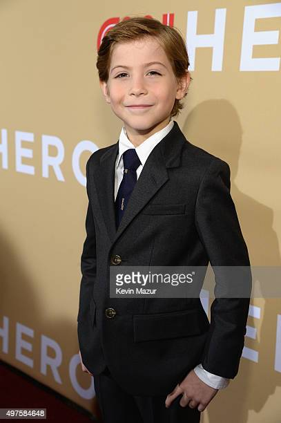 Actor Jacob Tremblay attends CNN Heroes 2015 Red Carpet Arrivals at American Museum of Natural History on November 17 2015 in New York City 25619_022
