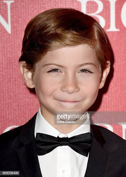 Actor Jacob Tremblay attends the 27th Annual Palm Springs International Film Festival Awards Gala at Palm Springs Convention Center on January 2,...