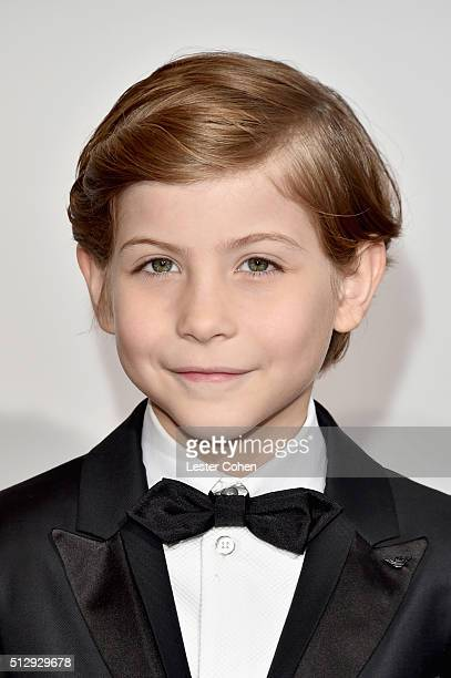 Actor Jacob Tremblay attends the 88th Annual Academy Awards at Hollywood & Highland Center on February 28, 2016 in Hollywood, California.