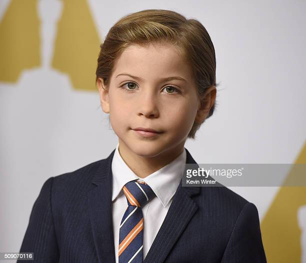 Actor Jacob Tremblay attends the 88th Annual Academy Awards nominee luncheon on February 8 2016 in Beverly Hills California