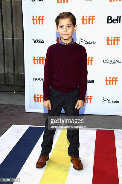 Actor Jacob Tremblay attends the Burn Your Maps premiere held at Ryerson Theatre during the Toronto International Film Festival on September 15 2016...