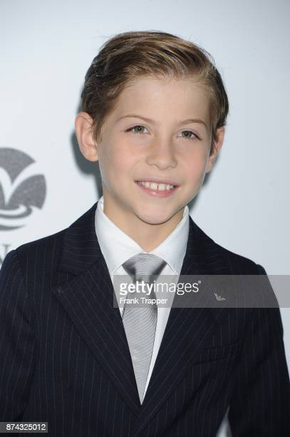Actor Jacob Tremblay attends the Premiere of Liongate's 'Wonder' held at the Regency Village Theatre on November 14 2017 in Westwood California