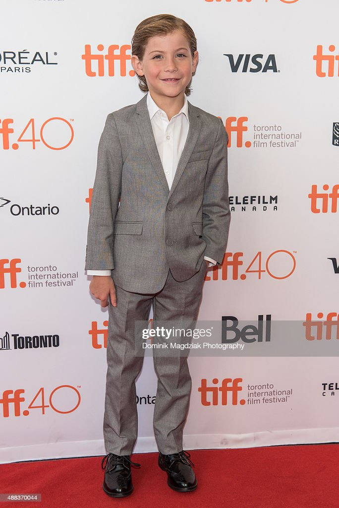 Actor Jacob Tremblay attends the 'Room' premiere during the 2015 Toronto International Film Festival at the Princess of Wales Theatre on September 15, 2015 in Toronto, Canada.