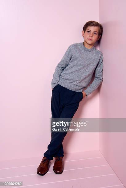 Actor Jacob Tremblay from the film 'The Predator' poses for a portrait during the 2018 Toronto International Film Festival at Intercontinental Hotel...