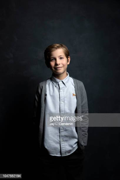 Actor Jacob Tremblay from 'The Predator' is photographed for Los Angeles Times on September 8, 2018 in Toronto, Ontario. PUBLISHED IMAGE. CREDIT MUST...