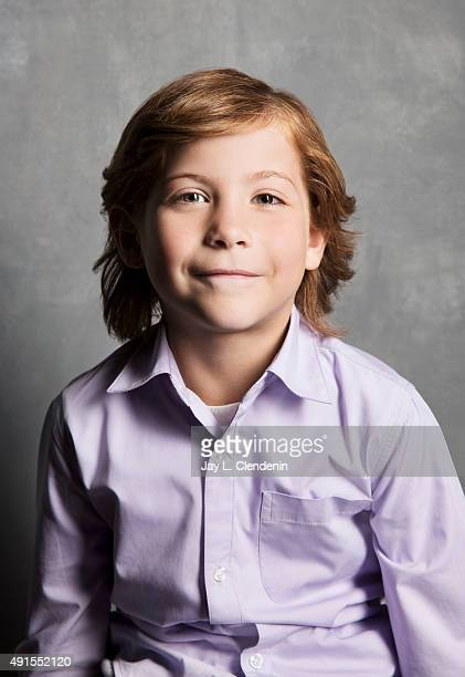 Actor Jacob Tremblay of the film Room is photographed for Los Angeles Times on September 25 2015 in Toronto Ontario PUBLISHED IMAGE CREDIT MUST READ...