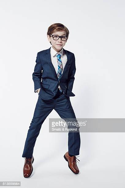 Actor Jacob Tremblay poses for a portrait at the 2016 Film Independent Spirit Awards on February 27 2016 in Santa Monica California