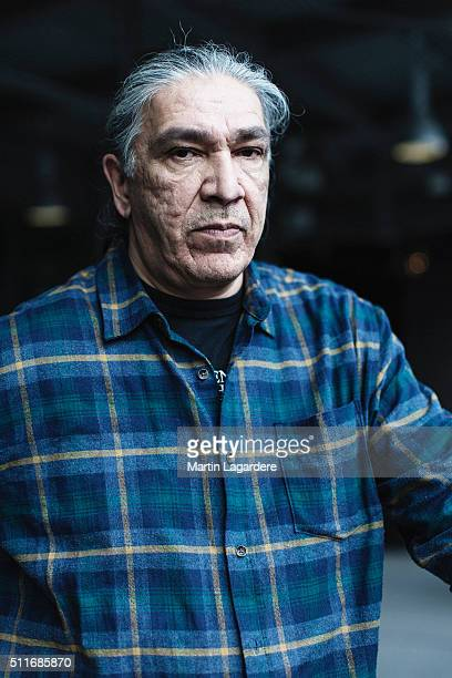Actor Jacques Newashish is photographed for Self Assignment on February 18 2016 in Berlin Germany