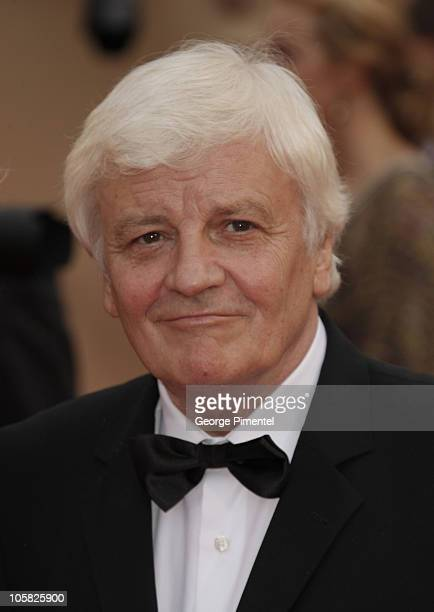Actor Jacques Perrin attends the Bright Star Premiere held at the Palais Des Festivals during the 62nd International Cannes Film Festival on May 15...