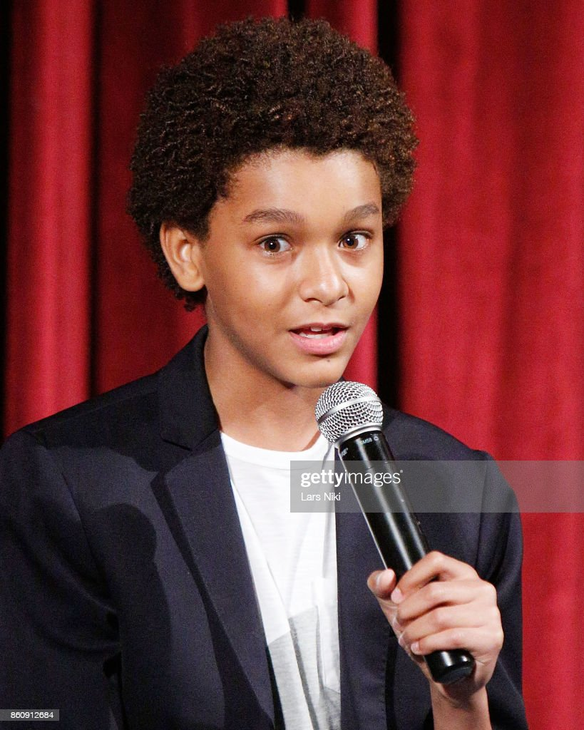 Actor Jaden Michael on stage during The Academy of Motion Picture Arts & Sciences Official Academy Screening of Wonderstruck at MOMA on October 11, 2017 in New York City.