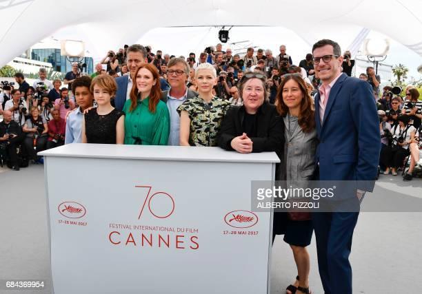 US actor Jaden Michael US actress Millicent Simmonds US producer John Sloss US actress Julianne Moore US director Todd Haynes US actress Michelle...