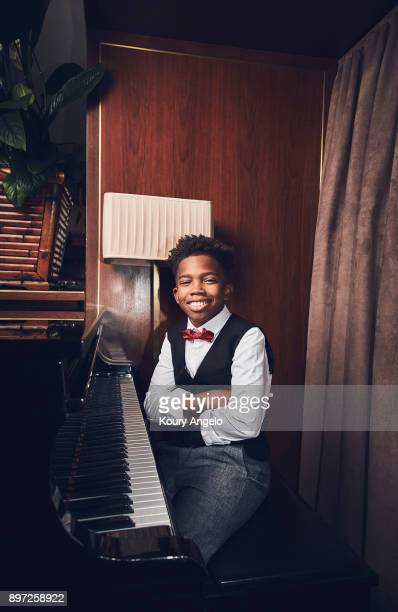 Actor Jaden Piner is photographed for The Hollywood Reporter on January 28 2017 in Los Angeles California PUBLISHED IMAGE
