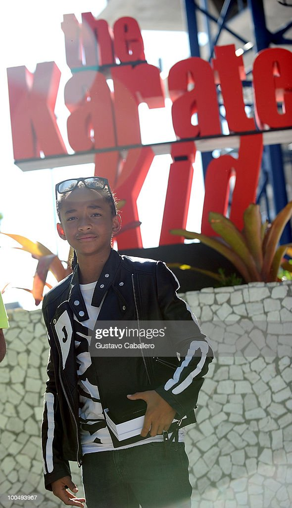 Actor Jaden Smith attends a special screening of Columbia Pictures' The Karate Kid at Regal South Beach on May 24, 2010 in Miami, Florida.