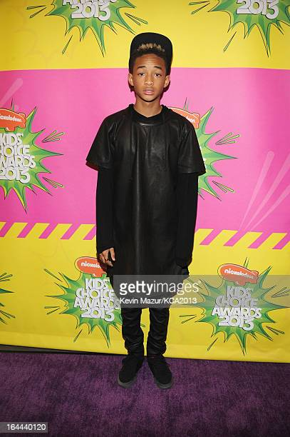 Actor Jaden Smith attends Nickelodeon's 26th Annual Kids' Choice Awards at USC Galen Center on March 23 2013 in Los Angeles California