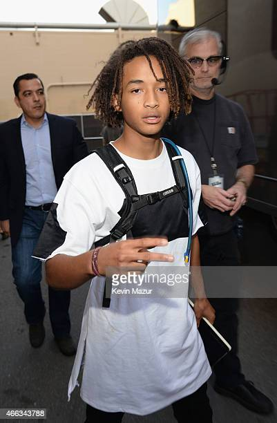 Actor Jaden Smith attends The Comedy Central Roast of Justin Bieber at Sony Pictures Studios on March 14 2015 in Los Angeles California