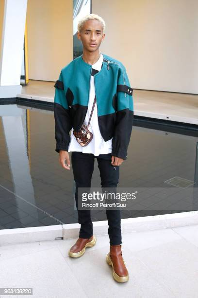 Actor Jaden Smith attends the LVMH Prize 2018 Edition at Fondation Louis Vuitton on June 6, 2018 in Paris, France.