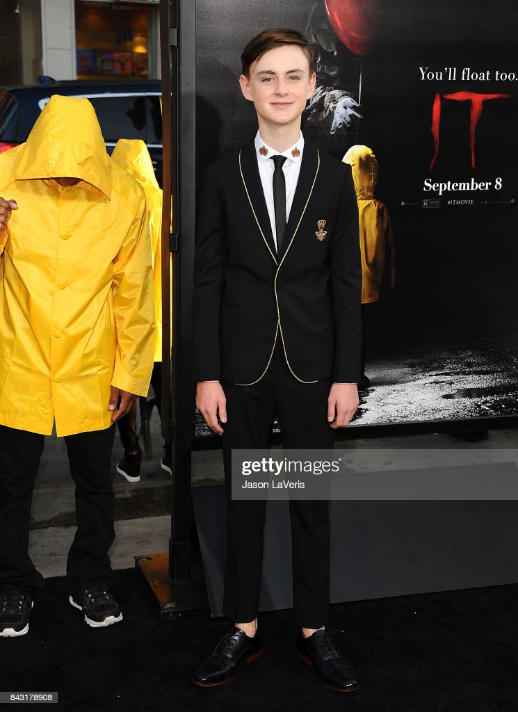 Actor Jaeden Lieberher attends the premiere of 'It' at TCL Chinese Theatre on September 5, 2017 in Hollywood, California.