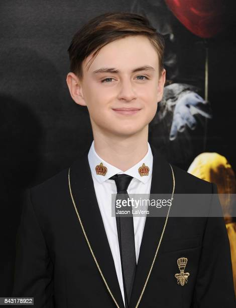 Actor Jaeden Lieberher attends the premiere of 'It' at TCL Chinese Theatre on September 5 2017 in Hollywood California