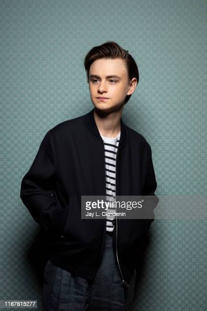 Actor Jaeden Martell from 'Knives Out' is photographed for Los Angeles Times on September 8 2019 at the Toronto International Film Festival in...