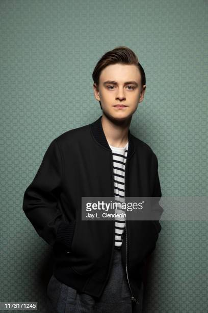 Actor Jaeden Martell from 'Knives Out' is photographed for Los Angeles Times on September 8, 2019 at the Toronto International Film Festival in...