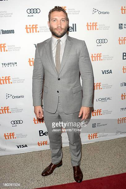 Actor Jai Courtney arrives at the Felony Premiere during the 2013 Toronto International Film Festival at The Elgin on September 10 2013 in Toronto...