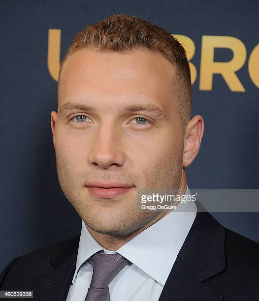 Actor Jai Courtney arrives at the Los Angeles premiere of Unbroken at The Dolby Theatre on December 15 2014 in Hollywood California