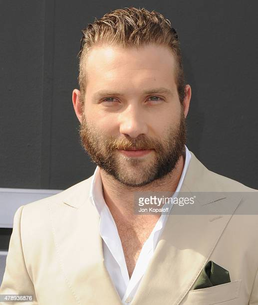 """Actor Jai Courtney arrives at the Los Angeles Premiere """"Terminator Genisys"""" at Dolby Theatre on June 28, 2015 in Hollywood, California."""