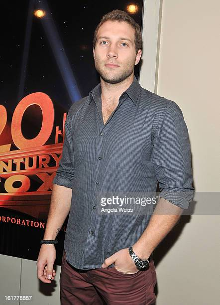Actor Jai Courtney attends the Australians in Film screening of 20th Century Fox's 'A Good Day To Die Hard' at Zanuck Theater on February 15, 2013 in...