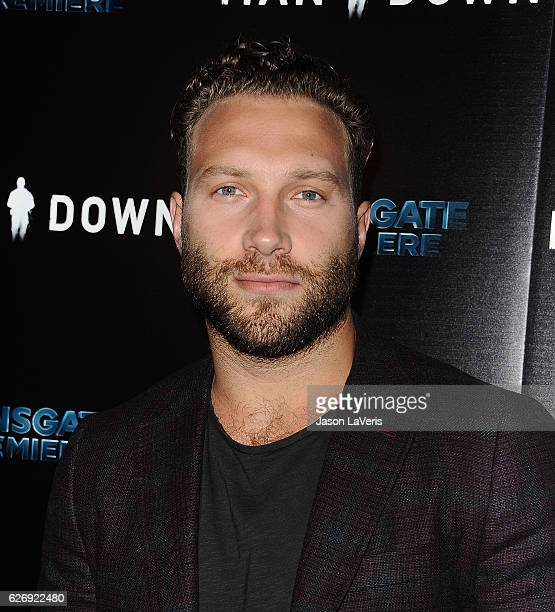 Actor Jai Courtney attends the premiere of Man Down at ArcLight Hollywood on November 30 2016 in Hollywood California